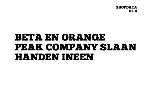 BETA en Orange Peak Company slaan handen ineen