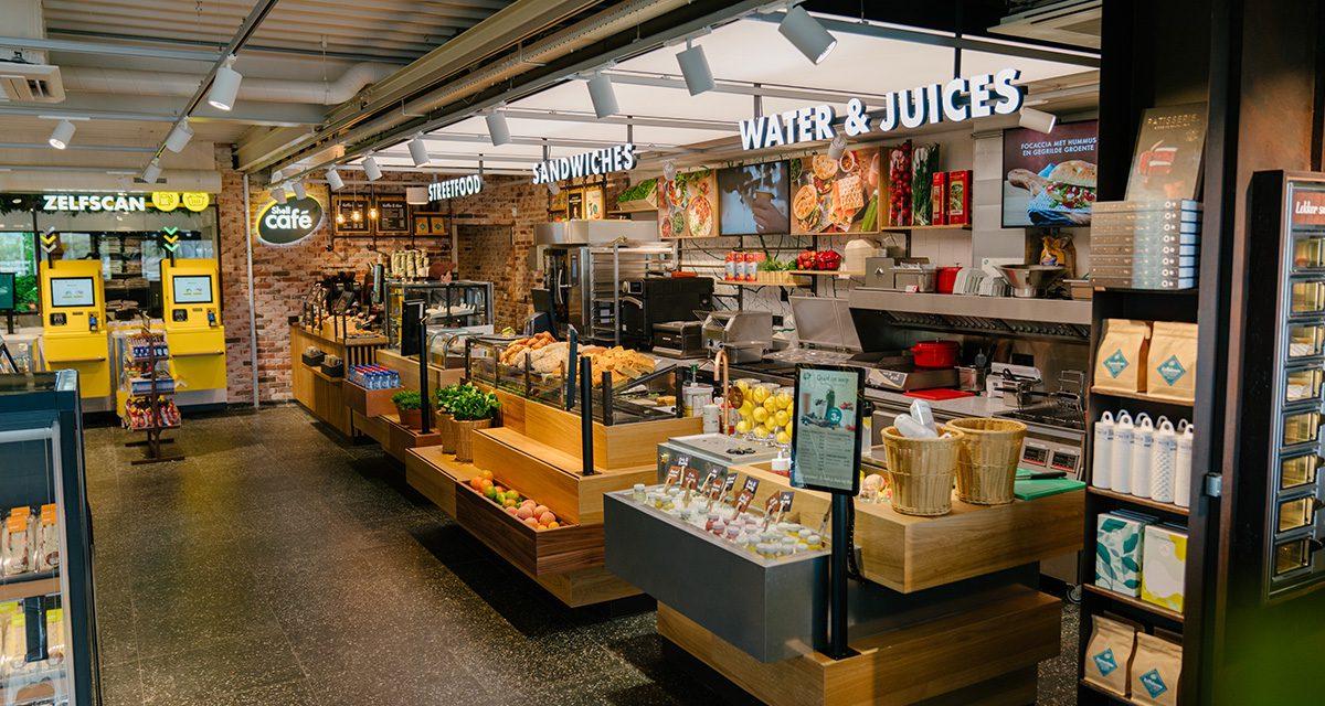 Shell café in Hendrik-Ido-Ambacht